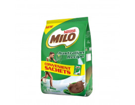 MILO Australian Recipe Instant Chocolate Malt Drink Powder Sachet - Case