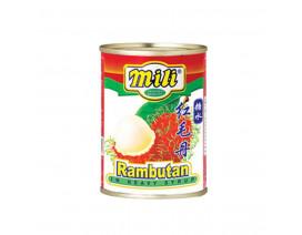 Mili Rambutan In Heavy Syrup - Case