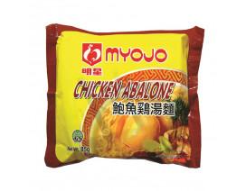 Myojo Chicken Abalone Instant Noodles - Case