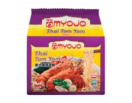 Myojo Thai Tom Yam Instant Noodles - Case