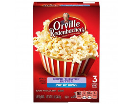 Orville Redenbacher's Movie Theater Butter Flavor Popping Corn - Case