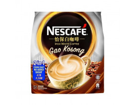 Nescafe Ipoh White Coffee Gao Kosong 2 in 1 Strong Roast No Added Sugar - Case