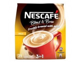NESCAFE Blend And Brew 3 in 1 Mild Instant Coffee - Case