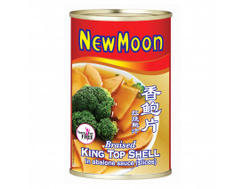 New Moon Braised King Top Shell in Abalone Sauce Slices - Case