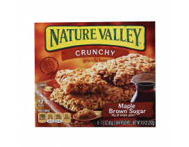 Nature Valley Granola Bar Crunchy Maple Brown Sugar - Case