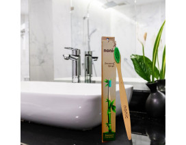 Nonic Standard Bamboo Toothbrush Medium Bristles 12s - Case