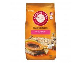 Arnold's Farm Toasted Muesli Full O Fruit - Case