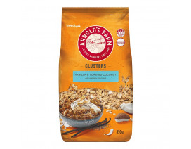 Arnold's Farm Clusters Vanilla Toasted Coconut - Case