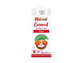 Ecomil Coconut Milk Nature Sugar Free - Case