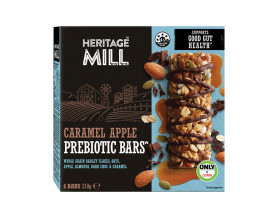 Heritage Mill Caramel Apple Prebiotic Bar - Case