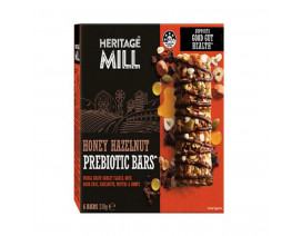 Heritage Mill Honey Hazelnut Prebiotic Bars - Case