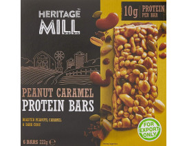 Heritage Mill Peanut Caramel Protein Bar - Case