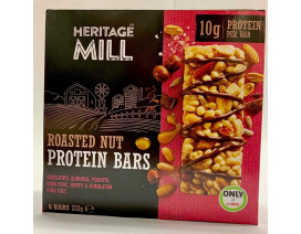 Heritage Mill Roasted Nut Protein Bar - Case
