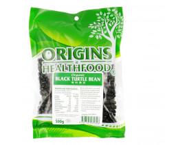Origins Health Food Organic Black Turtle Beans - Case