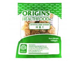 Origins Health Food Crystallized Ginger - Case