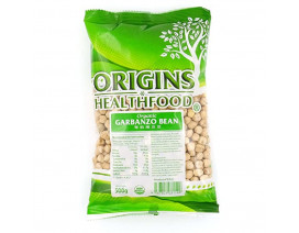Origins Health Food Organic Garbanzo Beans - Case