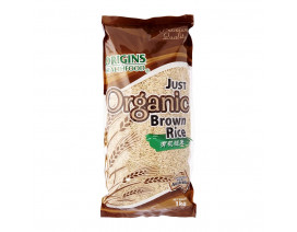 Origins Health Food Just Organic Brown Rice - Case