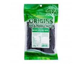 Origins Health Food Organic Black Sesame Seeds - Case