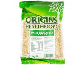 Origins Health Food Organic Sweet Brown Rice - Case