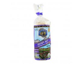 Lundberg Organic Brown Rice Cake Unsalted - Case