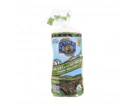 Lundberg Organic Tamari W Seaweed Rice Cake - Case