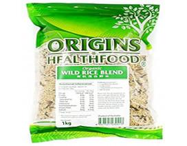 Origins Health Food Wild Rice Blend - Case