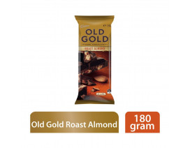 Cadbury Old Gold Roast Almond Dark Chocolate Block - Case