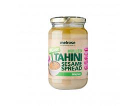 Melrose Tahini Sesame Spread Hulled Organic - Case
