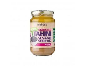Melrose Tahini Sesame Spread Unhulled Organic - Case