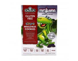 Orgran Kids Dinosaur Wfruit Cookies - Case