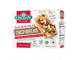 Orgran Toasted Buckwheat Crispbread - Case