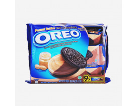 Oreo Peanut Butter & Chocolate Cookie Sandwich Biscuit - Case