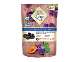 Sunny Fruit Organic Dried Plums - Case