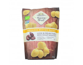 Sunny Fruit Organic Pitted Dates - Case