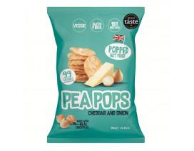 Pea Pops Cheddar & Onion Snacks - Case