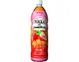 Pokka Bottle Drink Ice Strawberry Tea (Order 12 Cases Get 1 Free) Case