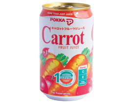 Pokka Can Drink Carrot Juice - Case