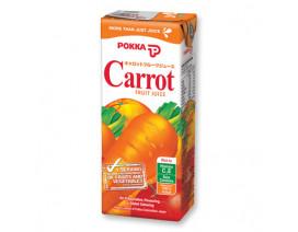 Pokka Packet Drink Carrot Fruit Juice - Case