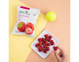 Greenday Strawberry (Freeze-dried Fruits) - Case