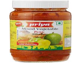 Priya Mixed Vegetable Pickle - Case