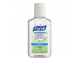 Purell Advanced Gel Hand Sanitizer Plastic Squeeze Bottle - Case