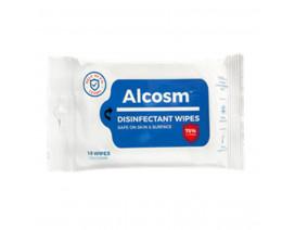 Alcosm Disinfectant Wipes 10s - Case