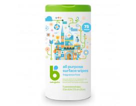Babyganics All Purpose Wipes Fragrance Free - Case