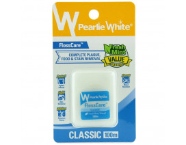 Pearlie White Flosscare Classic Waxed Floss - Case