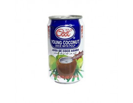 Ice Cool Roasted Coconut Juice with Pulp - Case