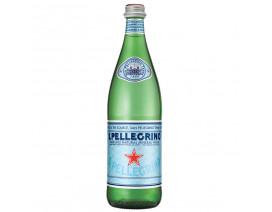 SAN PELLEGRINO SPARKLING NATURAL MINERAL WATER GLASS BOTTLE - CASE