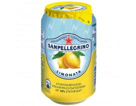 SAN PELLEGRINO LIMONATA SPARKLING WATER CAN - CASE
