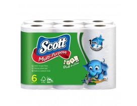 Scott Kitchen Pick-A-Size Towel Rolls 6 x 50's - Case