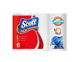 Scott Kitchen Towel Rolls 6 x 52's - Case