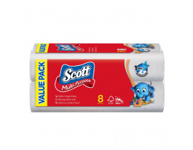 Scott Kitchen Towel Rolls 8 x 55's - Case